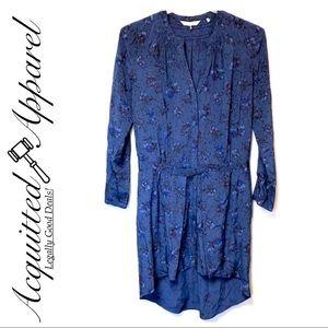 Rebecca Taylor | NWOT Floral Silk Shirt Dress